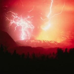 Volcano Butning